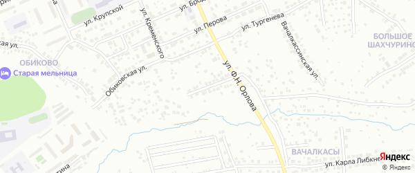 Улица Менделеева на карте Чебоксар с номерами домов