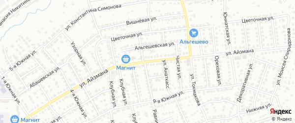 Улица Айзмана на карте Чебоксар с номерами домов