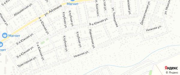 Ольховая улица на карте Чебоксар с номерами домов