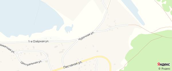 Чурочная улица на карте Чебоксар с номерами домов