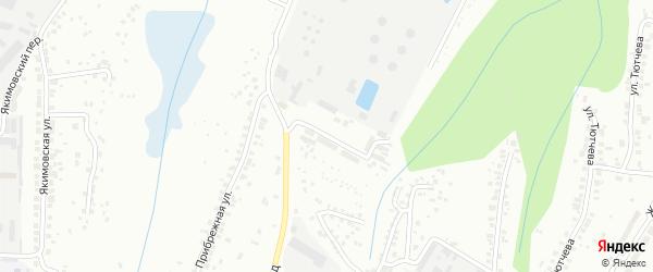 Нефтебазовская улица на карте Чебоксар с номерами домов