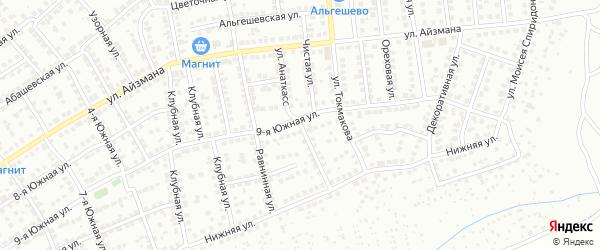Улица Анаткасс на карте Чебоксар с номерами домов