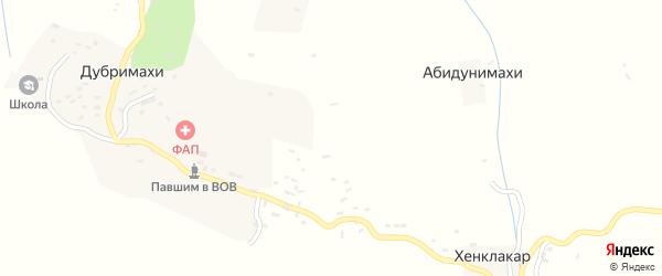 Улица Шинкбалакадамахинский на карте хутора Шинкбалакады с номерами домов