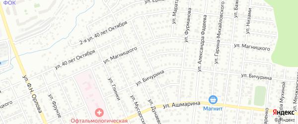 Улица Шелеби на карте Чебоксар с номерами домов