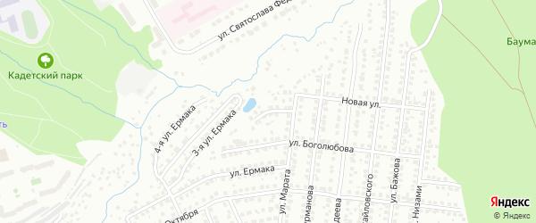 Улица 2-я Марата на карте Чебоксар с номерами домов