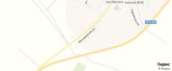 Молодежная улица на карте села Именево с номерами домов
