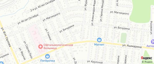 Переулок Шелеби на карте Чебоксар с номерами домов