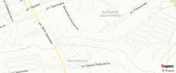 Территория сдт Коммунальник-3 на карте Чебоксар с номерами домов