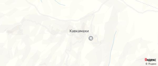 Карта хутора Кавкамахи в Дагестане с улицами и номерами домов