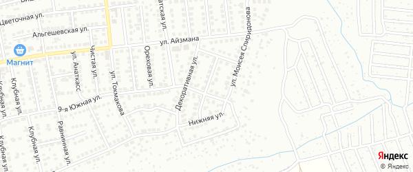 Улица Юрия Зайцева на карте Чебоксар с номерами домов