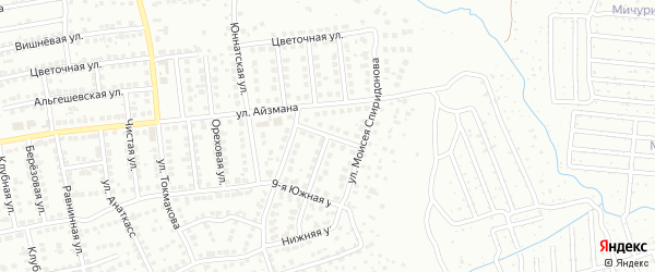 Якова Ухсая улица на карте Чебоксар с номерами домов
