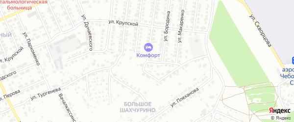 Улица Ярды на карте Чебоксар с номерами домов