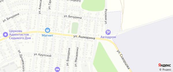 Улица Скульптора Мухиной на карте Чебоксар с номерами домов