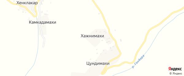 Улица Хажнимахинский на карте хутора Хажнимахи с номерами домов