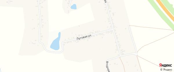 Луговая улица на карте деревни Чиршкасы (Сирмапосинского с/п) с номерами домов