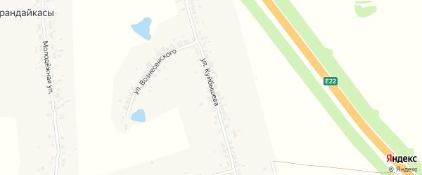 Улица Куйбышева на карте деревни Чиршкасы (Сирмапосинского с/п) с номерами домов