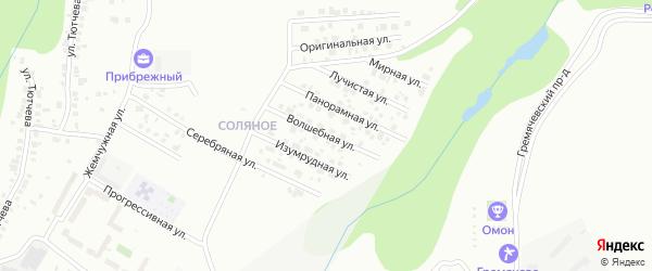 Волшебная улица на карте Чебоксар с номерами домов