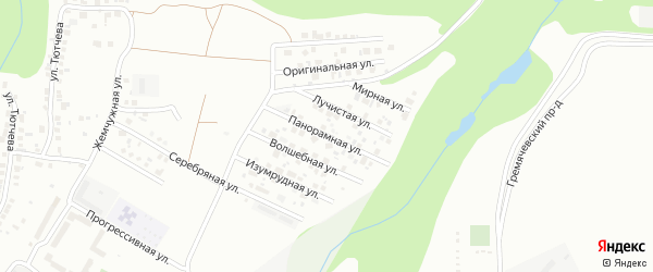 Панорамная улица на карте Чебоксар с номерами домов
