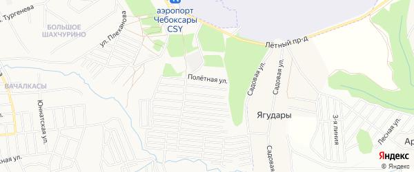 Дачное некоммерческое партнерство Золотое на карте Вурмана-Сюктерского сельского поселения с номерами домов