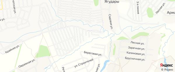 СТ Жилкомхоз (Кугесьского с/п) на карте Кугесьского сельского поселения с номерами домов