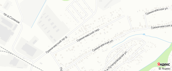 Гремячевский переулок на карте Чебоксар с номерами домов
