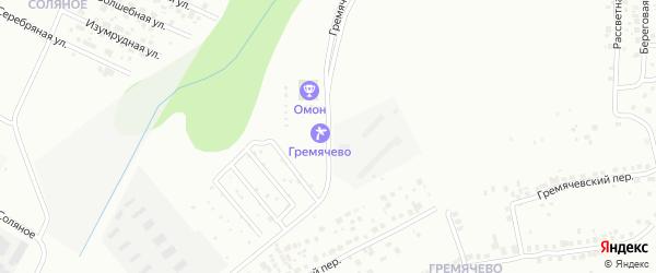 Территория сдт Гремячевский на карте Чебоксар с номерами домов