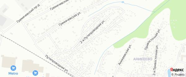 1-ая Путепроводная улица на карте Чебоксар с номерами домов