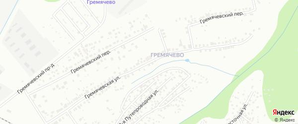 Гремячевская улица на карте Чебоксар с номерами домов