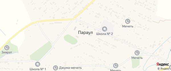 Улица Насрутдинова на карте села Параула с номерами домов