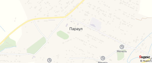 Приозерная улица на карте села Параула с номерами домов