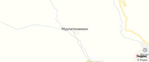 Заречная улица на карте хутора Мурлатинамахи с номерами домов