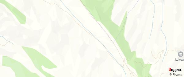 Карта хутора Бергеинзимахи в Дагестане с улицами и номерами домов