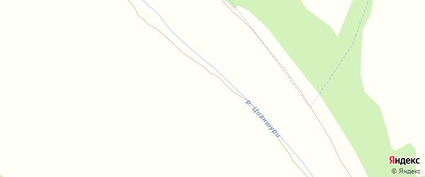 Улица Алиева М. на карте хутора Курашимахи с номерами домов
