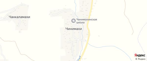 Улица В.Чини на карте хутора Чиънимахи с номерами домов