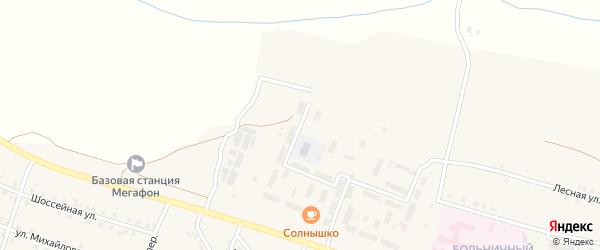 Улица Фирса Григорьева на карте села Шихазаны с номерами домов