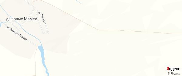 Карта деревни Пожарбосей в Чувашии с улицами и номерами домов