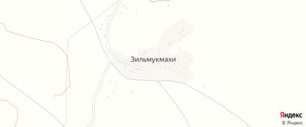 Зильмукская улица на карте хутора Зильмукмахи с номерами домов