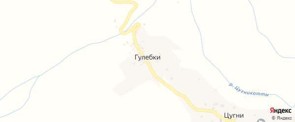 Квартал Анк на карте хутора Гулебки с номерами домов