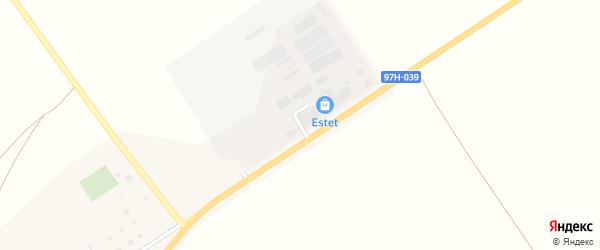 Заводская улица на карте Молодежного поселка с номерами домов