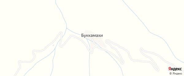Улица Им Рабадановых на карте хутора Буккамахи с номерами домов