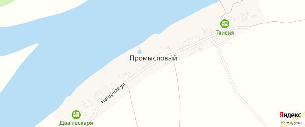 Нагорная улица на карте Промыслового поселка с номерами домов