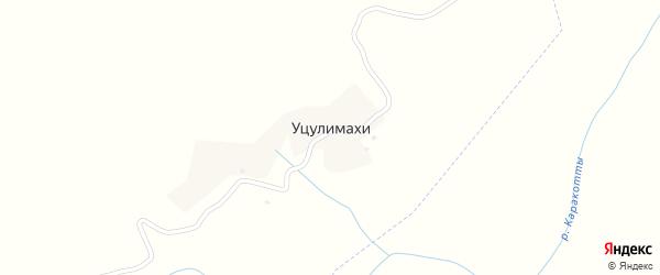 Местность Новострой на карте хутора Уцулимахи с номерами домов