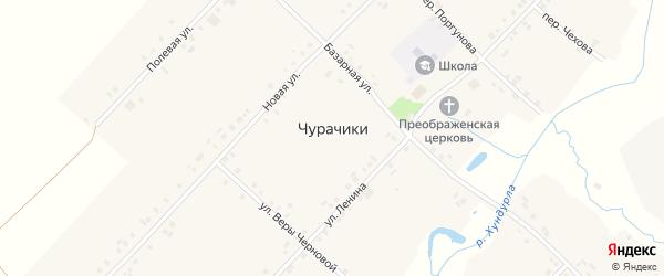 Полевая улица на карте села Чурачики с номерами домов