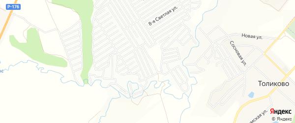 СТ Мебель на карте Атлашевского сельского поселения с номерами домов