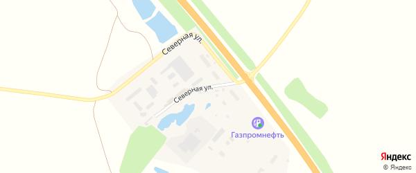 Северная улица на карте Цивильска с номерами домов