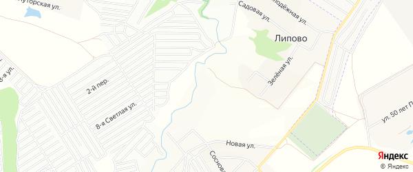 СТ Кукшум на карте Атлашевского сельского поселения с номерами домов