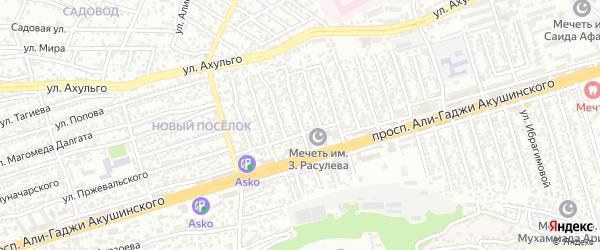 А.Акушинского пр-кт 15-я линия на карте Махачкалы с номерами домов