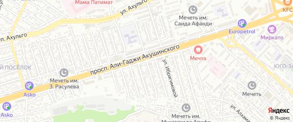 А.Акушинского пр-кт 5-я линия на карте Махачкалы с номерами домов