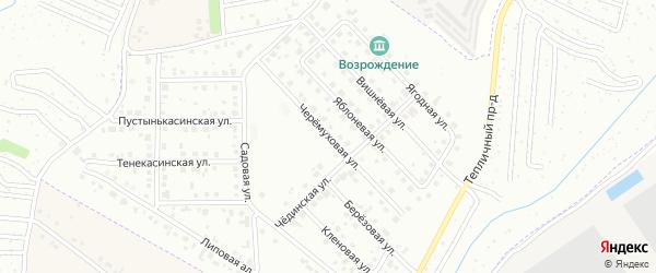 Черемуховая улица на карте Новочебоксарска с номерами домов