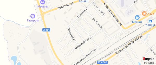 Улица Николаева на карте Канаша с номерами домов